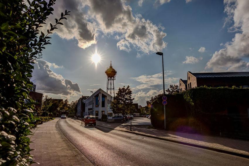 Architecture City Gegenlicht Meerbusch-Lank Meerbusch🌳 Wasserturm Clouds And Sky Day Sky Sun Water Tower - Storage Tank
