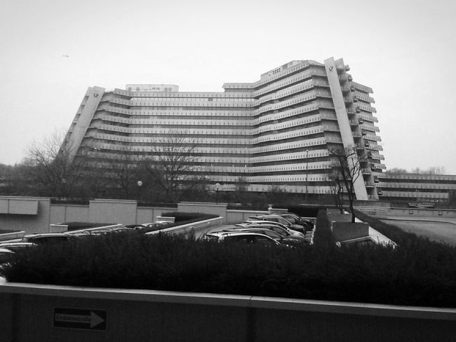 unModern Architecture. City Nord A Most Wanted Man Monochrome