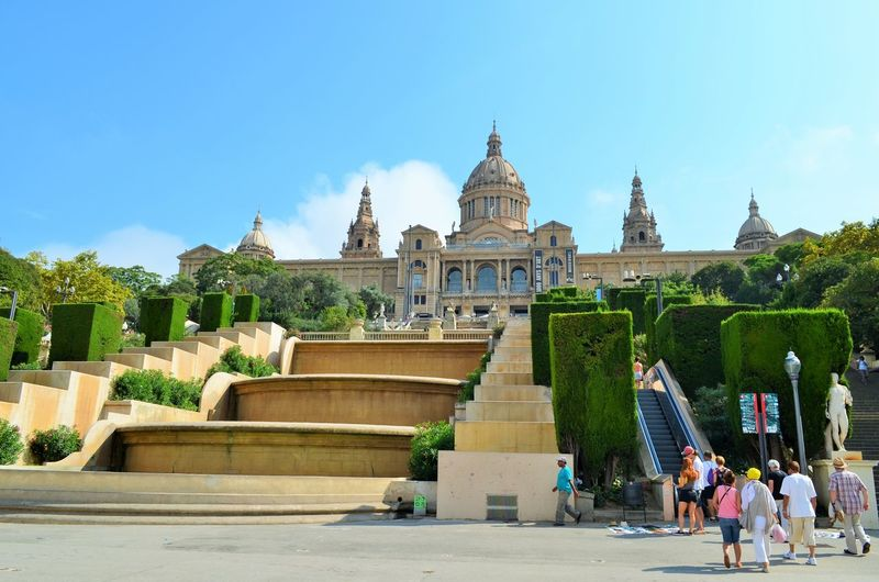The Palau Nacional, National Museum of Catalonia Check This Out Hello World Taking PhotosBarcelona, Spain First Eyeem Photo