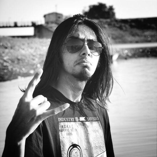 Metalhead \m/ Taking Photos Monochrome That's Me