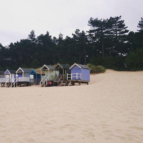 Wells-next-the-Sea Holkham Beach Beach Huts Beachhut Beach Hut Soft Sand Perfect Setting Best Beach Best Beaches