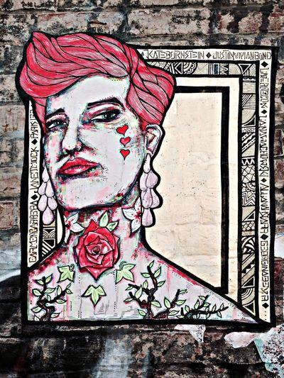 Streetart pasteup poster