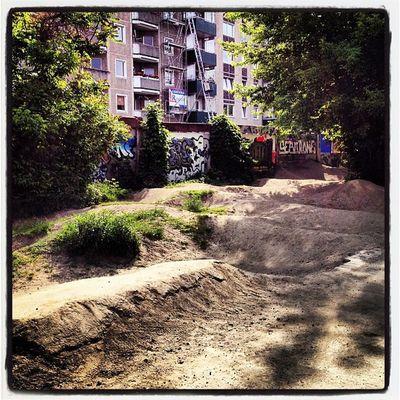 Now, a bit pumptrack #riding #mountainbike #outdoor #sport #street #berlin Street Berlin Riding Sport Mountainbike Outdoor