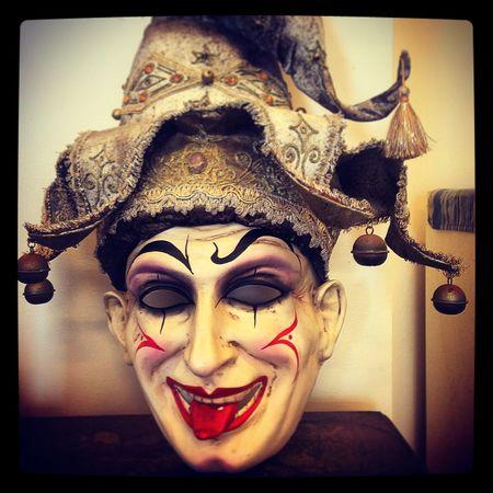 Art Bells Close-up Clown Creativity Cultures Hat Mask No People Tongue Venetian Mask
