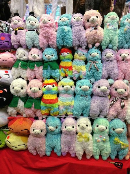 Alpacas Stuffed Animals Plushies KAWAII