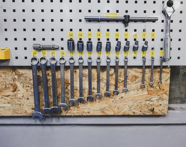 Mini tool wall.