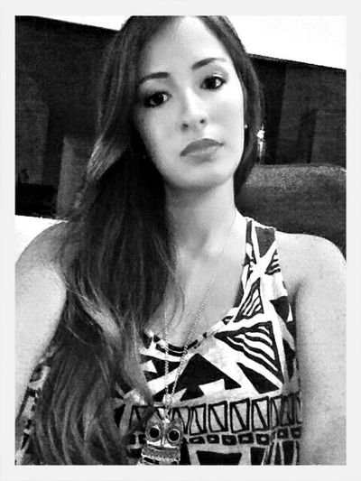 Supersize Yourself With Whitewall Black & White Girl Enjoying Life