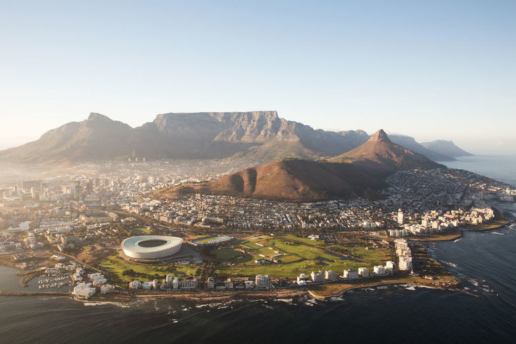 Aerial Photography Aerial Shot Aerial View Cape Town Cape Town From Above Cape Town Stadium Cape Town, South Africa Cityscape Landscape Lion's Head Mountain Mountain Range South Africa Sunset Table Mountain Travel Destinations Travel Photography