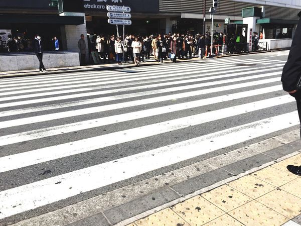 Large Group Of People Real People Women Travel Men Travel Destinations City Outdoors Day Crowd People Adult Weekend Activities Crosswalk Waiting Tokyo Street Photography Ikebukurostation White Color