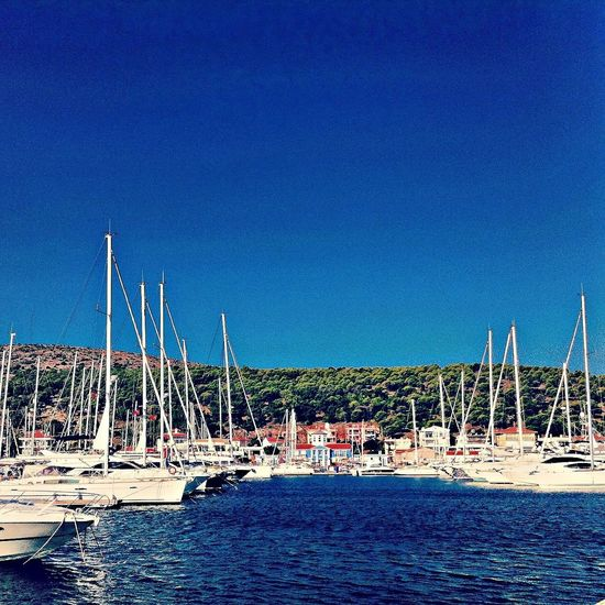 cesme marina/turkey