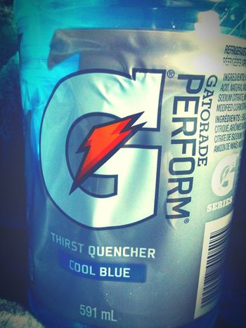 Hanging Out Taking Photos Check This Out Hello World Enjoying Life Blue Cool Drinking Gatorade Relaxing Miam
