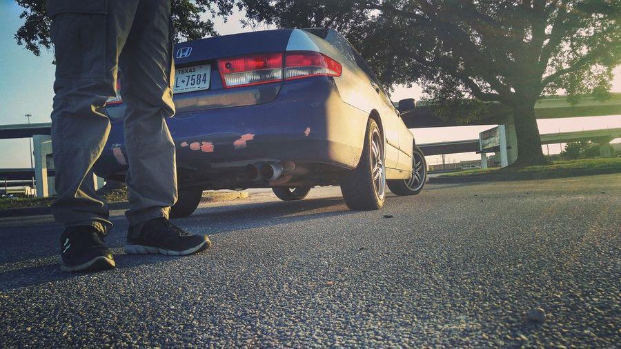 Honda Sunset Traveling In Houston