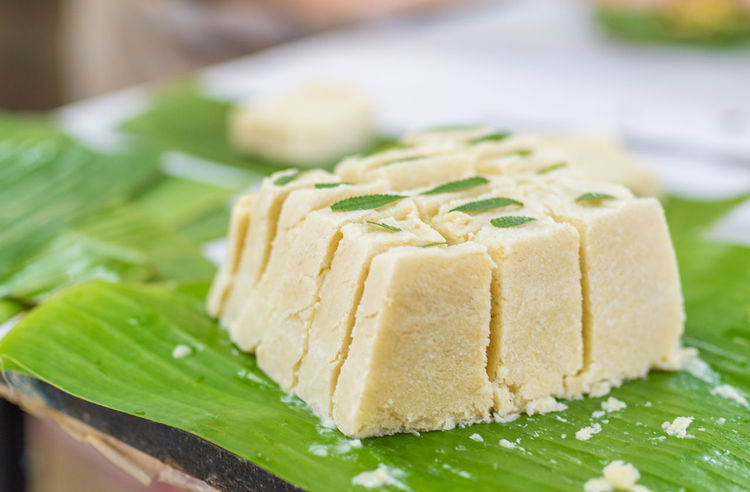 homemade durian ice cream cake Appetizer Asian Food Banana Leaf Cake Chilling Close-up Cool Dessert Durian Food Food And Drink Freshness Green Healthy Eating Homemade Ice Cream Indoors  No People Ready-to-eat S Sea Snack Strong Smell Stuffed Sweet
