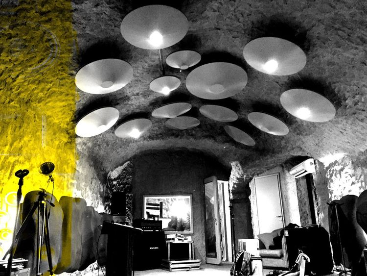 Painiacoustics Recording Studio Orvieto Music Sound Architecture Interior Interior Design Interior Views Acoustics Lighting Equipment Indoors  Real People Hanging Illuminated Built Structure Light Bulb Architecture Day