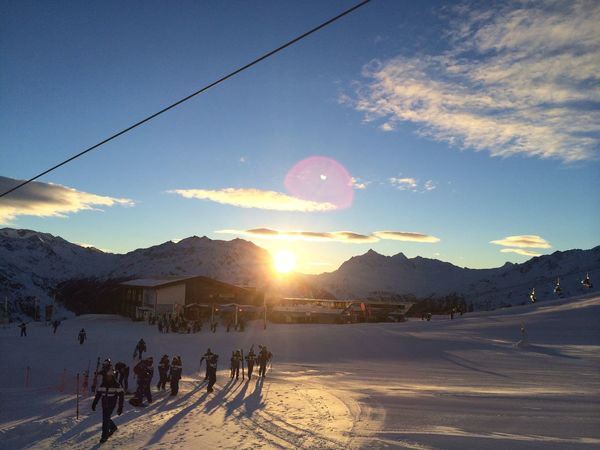 Winter Snow Cold Temperature Season  Weather Landscape Large Group Of People Tranquil Scene Sky Nature White Sun Mountain Scenics Snow Covered Beauty In Nature Cloud Tourism Tranquility Mountain Range Soelden Season16 Skischool