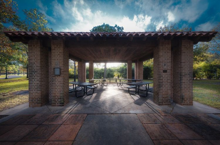 Old view with new skew Architecture Skew Viewpoint Outdoors No People Dramatic Sky Morning Light Texas Hermannpark City Park