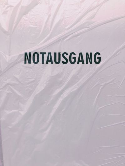 Exit Notausgang
