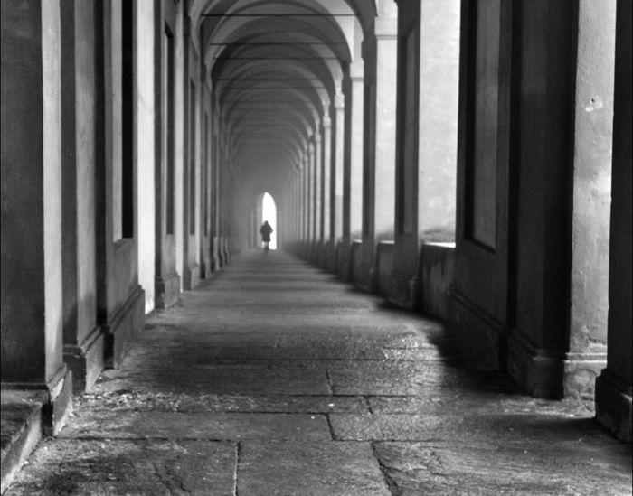 silence of a misty morning Architecture Blackandwhite Black And White Monochrome Eye4photography