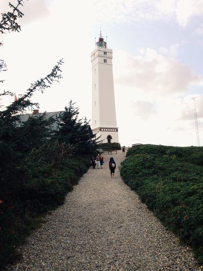 Sky Low Angle View Architecture Lighthouse Blåvandshuk Blåvandshuk Fyr Iphone 5 The Week On EyeEm