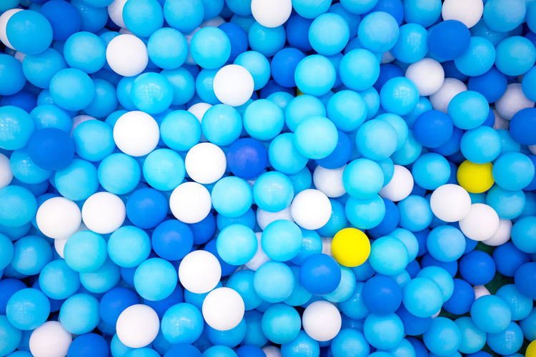 Thounds of the small balls Composition Toys Backgrounds Balloon Blue Blue Sky Celebration Close-up Colorful Colour Contrast Day Exposure Full Frame High Angle View Large Group Of Objects Lighting Multi Colored No People Outdoors Playground Toddler Toy White Background Yellow