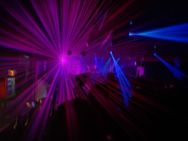 Illuminated Nightclub Arts Culture And Entertainment Laser Music Clubbing Party - Social Event Multi Colored Technology Indoors  Nightlife Night Disco Dancing Disco Lights No People