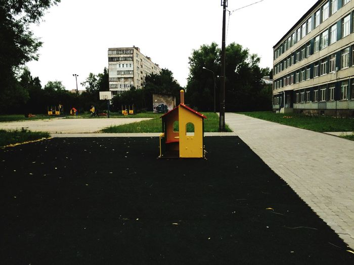 Streetphotography Childhood Street Colors Summer ☀ EyeEmRussianTeam School Old Buildings Alone