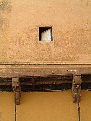 Architecture Open Window Simplicity Wall Wall - Building Feature Window