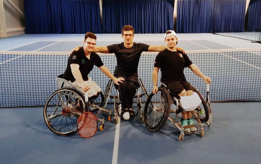 Germany Hamburg Tennis 🎾 WheelchairTennis Crew Twins Trainhard