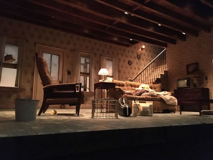 Theatre Thenewgroup EdHarris Samshepherd Buriedchild NYC Nytheatre run don't walk to see this production!