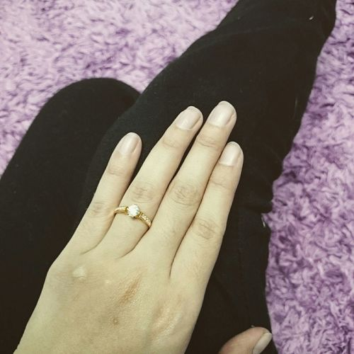 Engagement Ring Beautiful Day Taken By Someone Love♥