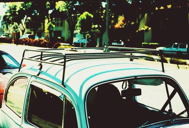 Vintage Cars Roof Rack Vw Bug Car Roof