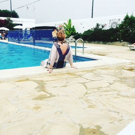 Heaven Swimming Pool SPAIN Vacation Chill Relaxing Last Day