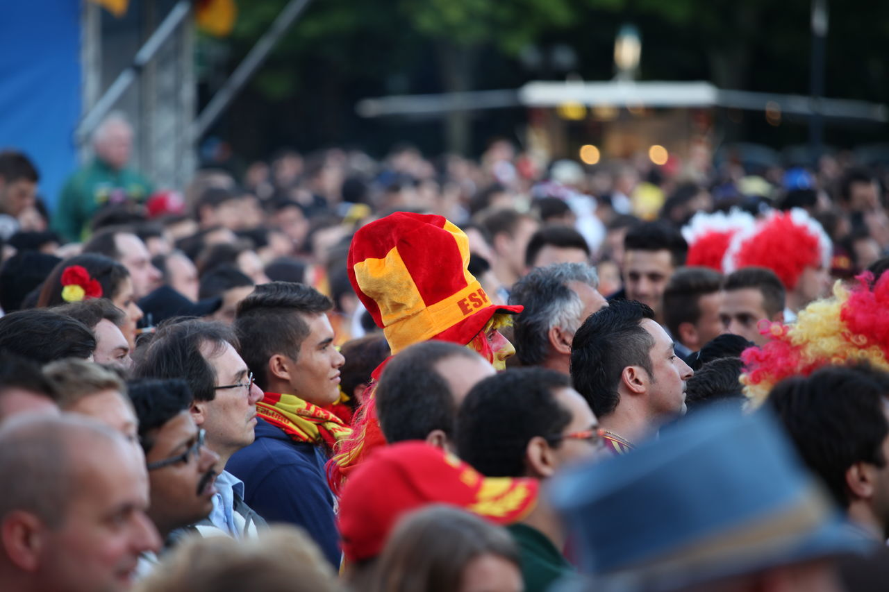 large group of people, crowd, spectator, men, flag, women, real people, unity, togetherness, day, outdoors, event, soccer, fan - enthusiast, protestor, adult, people