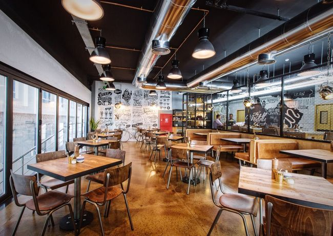 Cool Interior Interior Design Cool Cafe Urban Design Coffee Time Copper Cafe Lifestylephotography Visit Oman