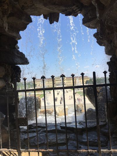 Vienna View Turist City City Life Castel Shönbrunn Fountain Day Motion Old Ruin No People Architecture Spraying Sky Outdoors Building Exterior