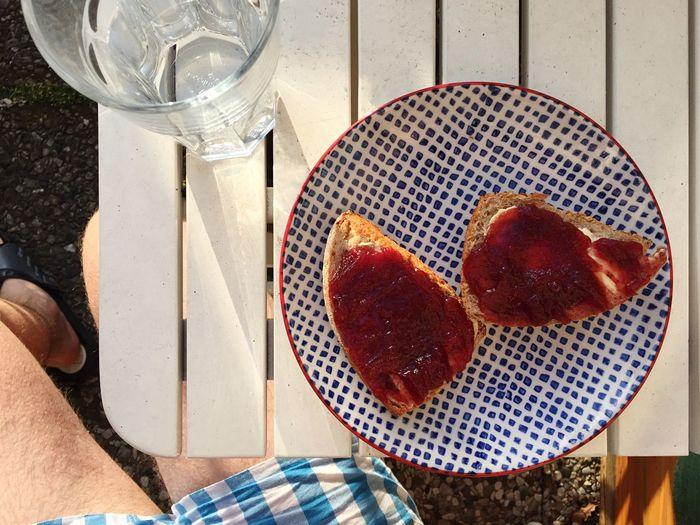 My July - Breakfast on the Balcony