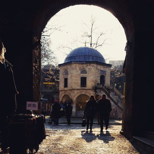 Kozahan Han Bursa Kapalıçarşı Historicbuilding Gate Osmanlı