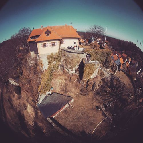 Castle Architecture Dronephotography Fish-eye Lens House Land Nature Outdoors Sky