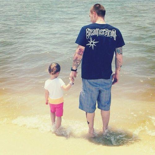 Daddy's little girl @tattedupcorey_ Man With Tattoo Tattoo