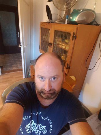 ich selbst Portrait Looking At Camera Men Beard Headshot Mature Men Front View Close-up