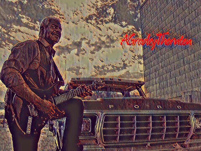 TheBlues Guitarist Guitar Legend Locallegend