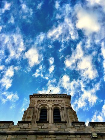 Architecture Tower Lookingup Building Exterior Stone Wall Low Angle View Church Church Architecture Church Tower
