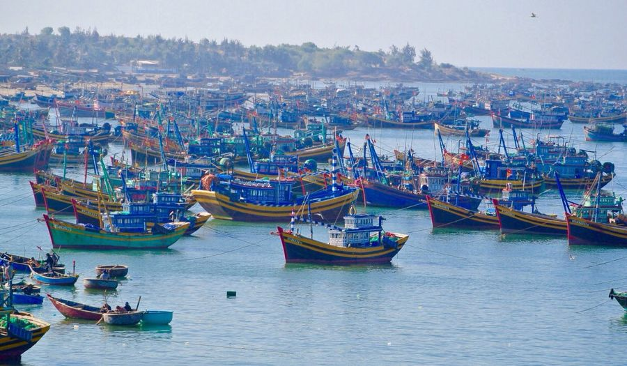 The fishing village. Just Around The Corner RePicture Travel My Country In A Photo