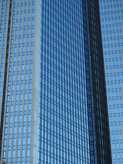 Architecture Backgrounds Blue Building Exterior Built Structure City Corporate Business Day Financial District  Full Frame Low Angle View Modern No People Outdoors Sky Skyscraper Tall The Architect - 2017 EyeEm Awards Tower Window