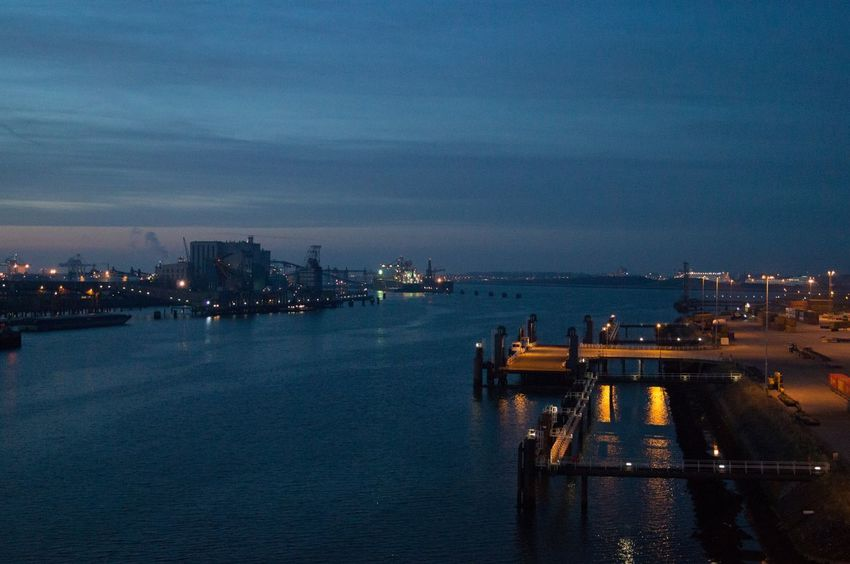 Rotterdam Rotterdam Haven RotterdamHarbor Rotterdam Port Ferryport Sea Meer Northsea Nordsee Night Nightphoto Nightphotography