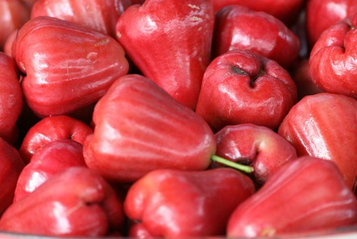 Food And Drink Food Healthy Eating Red Freshness Full Frame Fruit Backgrounds No People Large Group Of Objects Market Eating Healthy Lifestyle Sweet Food Close-up Vegetarian Food Dieting Indoors  Ready-to-eat Day Fruits Rose Apple ชมพู่