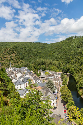Architecture Day Historic Luxembourg Mountainous Nature Outdoors River Town
