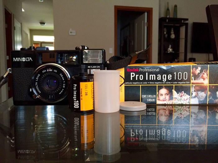 Analogue Photography Kodak Pro Image100 © Bong Astrologo