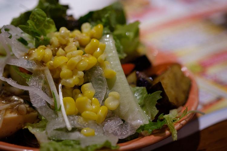 サラダ/Salad Broncobilly Buffet Close-up Food Food And Drink Freshness Fujifilm FUJIFILM X-T2 Fujifilm_xseries Healthy Eating Japan Japan Photography Plate Ready-to-eat Salad Serving Size Vegetable X-t2 ぶろんこびりー サラダ 船橋