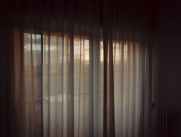 Morning view Balcony Curtain Dawn Drapes  Early Early Morning Indoors  Morning Morning Light No People Terrace Travel Photography Vacation View Waking Up Window
